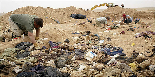 Anfal mass graves