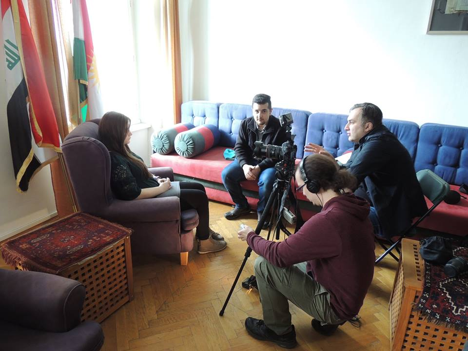 interview with Christian students