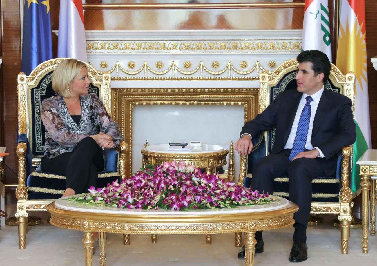 dutch defense minister in Kurdistan